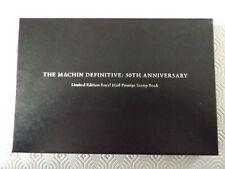 THE MACHIN DEFINITIVE 50TH ANNIVERSARY LTD EDN PRESTIGE BOOK & COIN 925 SILVER