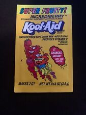 Kool-Aid Incrediberry. 90's Vintage Delicious Never Opened! RARE!!!