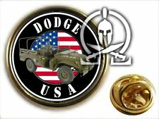 ..: Pin's :.. DODGE AMBULANCE WC 51 52 - WW2 GMC jeep M201 militaria MECANICIEN