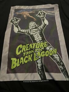 CREATURE FROM THE BLACK LAGOON Universal Monsters T Shirt NEW Never Worn 3XL