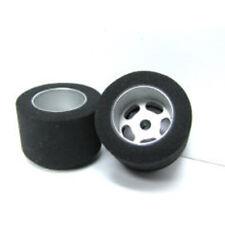H&R Racing HR1210 27 x 18mm SBR Foam Tire w/ Wheel 1/8 Axle (2) 1:24 Slot Car