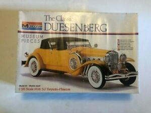 Monogram The Classic 1934 Duesenberg SJ Torpedo-Phaeton Model Kit