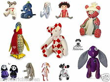 BESPOKE 2 X Pattern Bundle, Your Choice of Any 2 Soft Toy Fabric Sewing PATTERNS