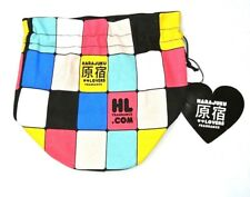 Harajuku Lovers Fragrance Cosmetic Drawstring Bag Travel Purse Tote