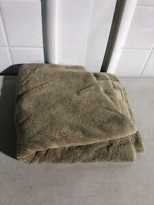 "Charisma Bath Towel Bath Sheet 30"" W x 58"" L 100% Soft HygroCotton Tan 1302702"