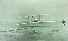 Wright Brothers  First Powered Flight  1903 Kill Devil Hills  NC   Reprint PC