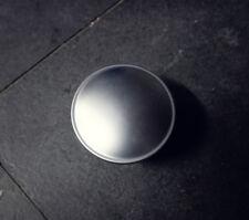 Tankdeckel Tankverschluss Verschluss silber matt 4 cm