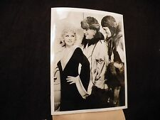 Vintage Original 1935 News Photo Mae West with John J.Hermann & Carl O Petersen