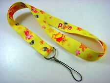 Winnie The Pooh ID card holder, Key Neck Strap Lanyard, Phone Neck Strap + Charm