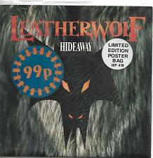 RARE Leatherwolf Hideaway 45 record in poster sleeve