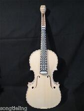 Unfinished 4/4 violin (4*4) strings) ,Hardanger fiddle