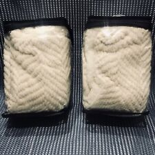 New Ugg Brea Standard Sham Snow/White Pillow Shams 26�x 20� Set Of Two Shams