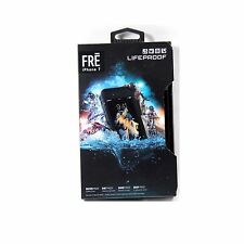 LIFEPROOF CASE FOR IPHONE 7 FRE WATER PROOF GENUINE ASPHALT BLACK NEW 77-53981