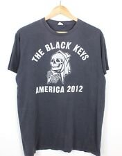 The Black Keys 2012 American Tour Mens Short Sleeve Graphic Band Tee T Shirt - L