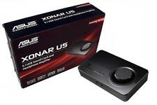 New Asus XONAR U5 5.1 USB Sound Card Audio Controller Headphone amplifier amp