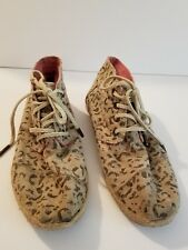 CUTE TOMS ANKLE BOOTIES SIZE 6 LEOPARD PRINT