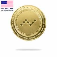 Cryptochips Nano 2021 Physical Crypto Coin Collectable Coin Gold Color