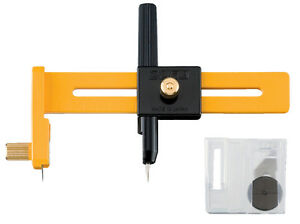 """CMP-1 OLFA 6"""" Compass Circle Cutter for Art or Sewing, Pack of 1"""