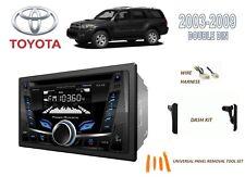 2003-2009 TOYOTA 4-RUNNER CAR STEREO KIT, BLUETOOTH USB CD AUX MP3