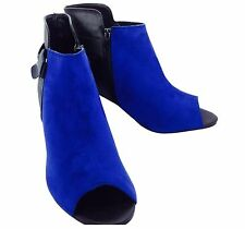 Faux Suede Extra Wide (EEE) Heel Shoes for Women
