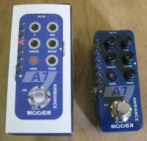 Mooer A7 Ambiance Reverb Guitar Effects Pedal - Ships from the US