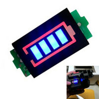 Lithium 4 Blocks Tester Power Module Indicator Battery Capacity Display