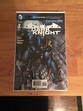 Batman: The Dark Knight, New 52 Comics 1,2,7,10,12,13,14