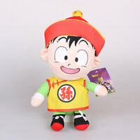 "13"" 34Cm Licensed Dragon Ball Z Son Gohan Child Plush Toys Soft Stuffed Doll"