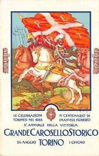 3674) TORINO 1928 GRANDE CAROSELLO STORICO. ILLUSTRATORE GAIDO.