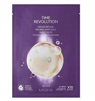 MISSHA TIME REVOLUTION Night Repair Probio Ampoule Sheet Mask [1pc] Firming [UK]