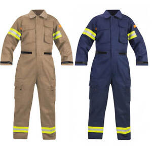 Propper Fire Resistant Extrication Suit w/Padded Knees & Reflective Trim