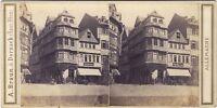 Germania Francoforte ? Foto Braun Stereo Vintage Albumina Ca
