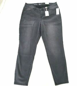 Style & Co Plus Size Mid Rise Sculpted Curvy Fit Womens Skinny Jeans 16W
