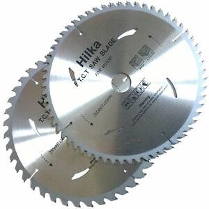 Circular Saw Blades/ 250mm 40 teeth & 60 medium/fine cut TCT Saw Disc Blades
