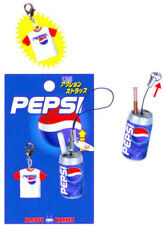 Pepsi Cola Can Action Phone Charm Key Chain/Bag Accessory From Japan 2004