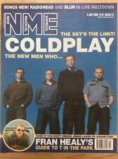 NME New Musical Express.8/7/00 Coldplay, Gene, Travis, Feeder, Morgan