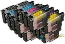 20 LC900 Ink Cartridge Set For Brother Printer DCP110C DCP111C DCP115C DCP117C