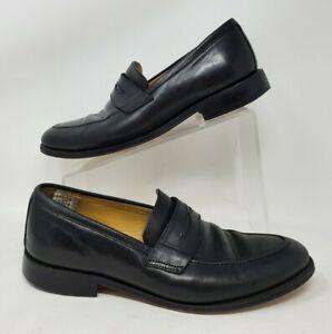 Brooks Brothers Mens Sz 9 D Black Penny 346 Loafer Slip On Dress Shoes