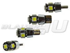 2x 5 SMD LED XENON weiß w5w T10 Glassockel CheckControl CAN-Bus Kein Standlicht