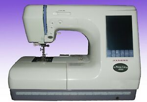 JANOME MEMORY CRAFT 10000 (Including Extra Hoops/Card Reader as shown in photos)