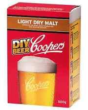 Coopers Light Dry Malt 500g pack Bar Accessories