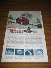 1964 Print Ad Garcia Mitchell 600 Saltwater Fishing Reels Surf Fisherman