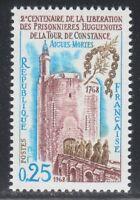 France 1968 MNH Mi 1633 Sc 1219 Tower de Constance,Aigues-Mortes,monks,bridge **