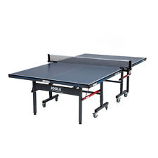 Joola 11110 Tour 1800 Indoor 18mm Folding Table Tennis Table with Net Set, Blue