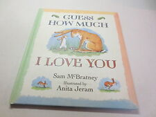 Guess How Much I Love You Sam McBratney First U.S. Edition 1995 vintage hardback