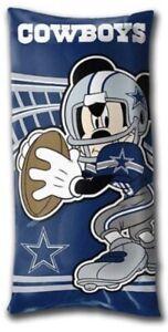 NFL dallas Cowboys Mickey Mouse Body Pillow