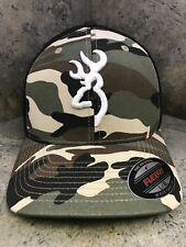 Browning Colstrip Camo Baseball Cap 308702294  L/XL Flex Fit