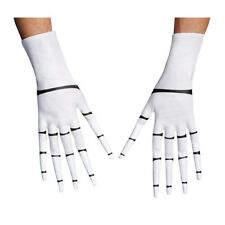Disney Nightmare Before Christmas Adult Jack Skellington White Gloves