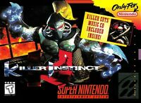 Killer Instinct Super Nintendo Snes Cleaned Tested Cart Only Authentic