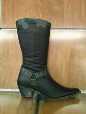 venta caliente más nuevo a juego en color límpido a la vista Botas de mujer verdes de piel   Compra online en eBay
